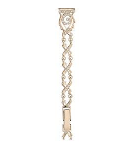 Золотой браслет для часов (12 мм) 5365026