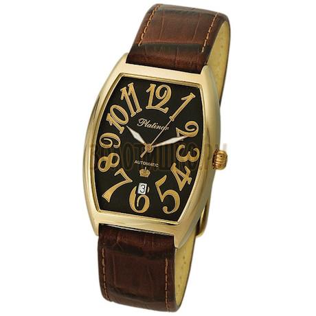 """Мужские золотые часы """"Океан"""" 54110.505"""