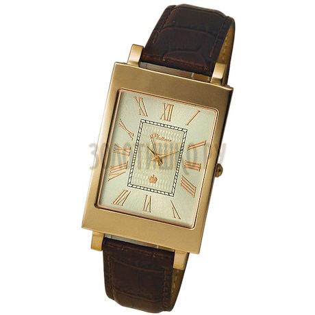 """Мужские золотые часы """"Кредо-2"""" 54350.220"""