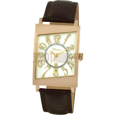 """Мужские золотые часы """"Кредо"""" 54450-1.307"""