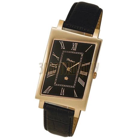 """Мужские золотые часы """"Кредо"""" 54450.520"""