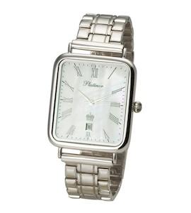 """Мужские серебряные часы """"Атлант"""" 54600.315"""
