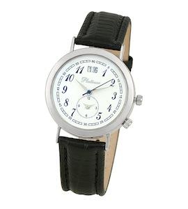 "Мужские серебряные часы Platinor коллекции ""Шанс"" 55800.105"