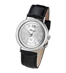 "Мужские серебряные часы Platinor коллекции ""Шанс"" 55800.215"