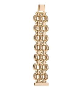 Золотой браслет для часов (16 мм) 56083