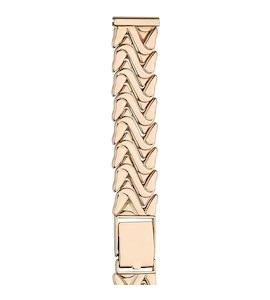 Золотой браслет для часов (16 мм) 56268