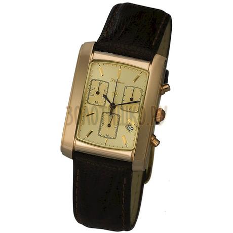 """Мужские золотые часы """"Эстет"""" 56350.403"""