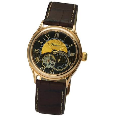 """Мужские золотые часы """"Меркурий"""" 56450.520"""