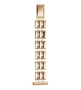 Золотой браслет для часов (16 мм) 56586