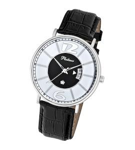 """Мужские серебряные часы """"Амур"""" 56700.208"""