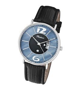 """Мужские серебряные часы """"Амур"""" 56700.608"""