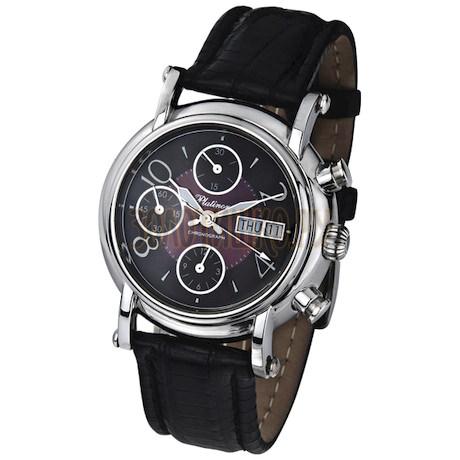"""Мужские серебряные часы """"Адмирал-2"""" 57100.806"""