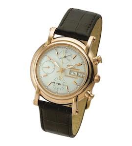 """Мужские золотые часы """"Адмирал-2"""" 57150.303"""