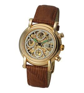 "Мужские золотые часы ""Адмирал-2"" 57150Д.155"