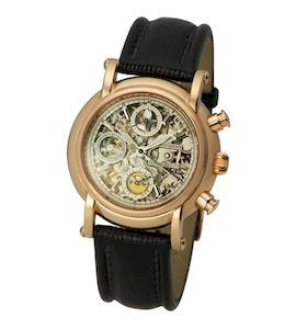 "Мужские золотые часы ""Адмирал-2"" 57150Д.255"