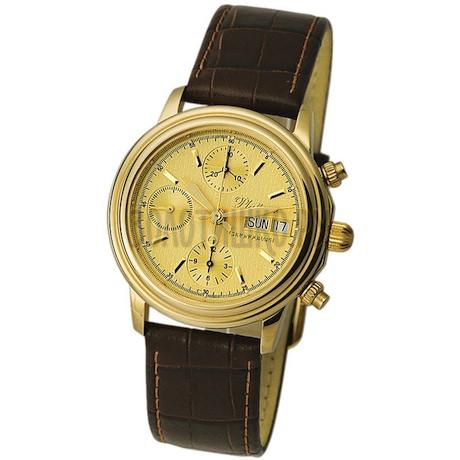 """Мужские золотые часы """"Консул"""" 57710.404"""