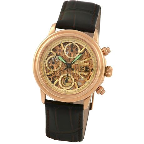 """Мужские золотые часы """"Консул"""" 57750Д.455"""