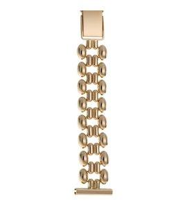 Золотой браслет для часов (18 мм) 58080