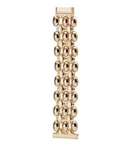 Золотой браслет для часов (18 мм) 58083