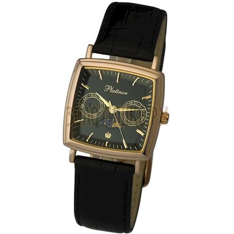 """Мужские золотые часы """"Бриз"""" 58550.503"""