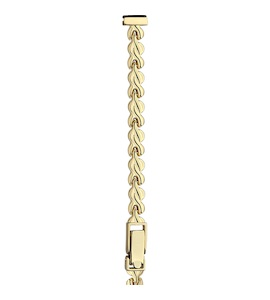 Золотой браслет для часов (8 мм) 61121