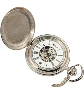 Карманные серебряные часы 62000.156