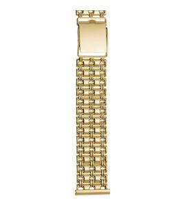 Золотой браслет для часов (20 мм) 62011
