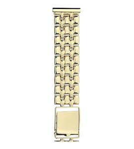 Золотой браслет для часов (20 мм) 62022