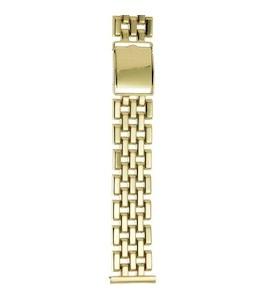 Золотой браслет для часов (20 мм) 62780