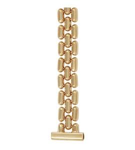 Золотой браслет для часов (14 мм) 64202