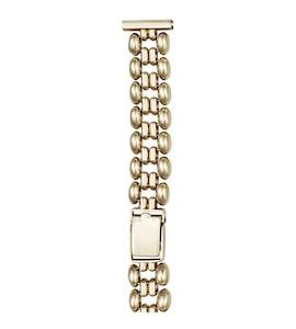 Золотой браслет для часов (18 мм) 68080