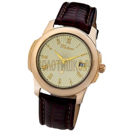 "Мужские золотые часы ""Гранд Монако"" 71250.421"