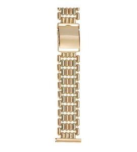 Золотой браслет для часов (20 мм) 82003