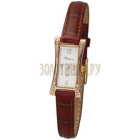 """Женские золотые часы """"Элизабет"""" 91751А.306"""