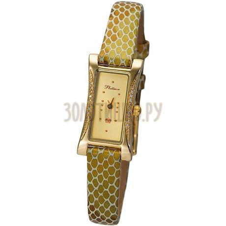 """Женские золотые часы """"Элизабет"""" 91761А.401"""