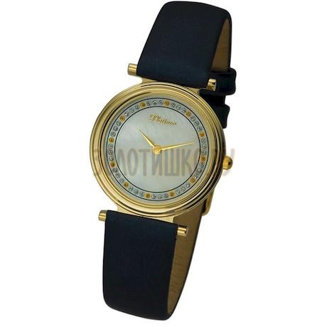 """Женские золотые часы """"Сабина"""" 93260.324"""