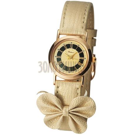 """Женские золотые часы """"Ритм"""" 98130.418"""