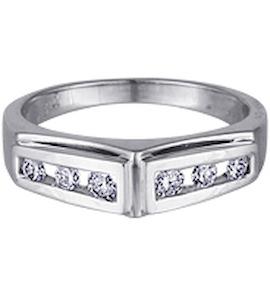 Кольцо с бриллиантами 10166