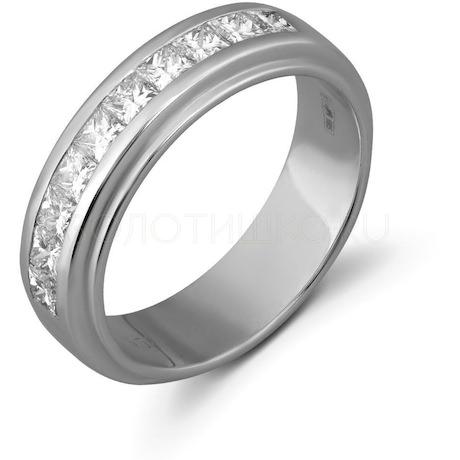Кольцо с бриллиантами 10417