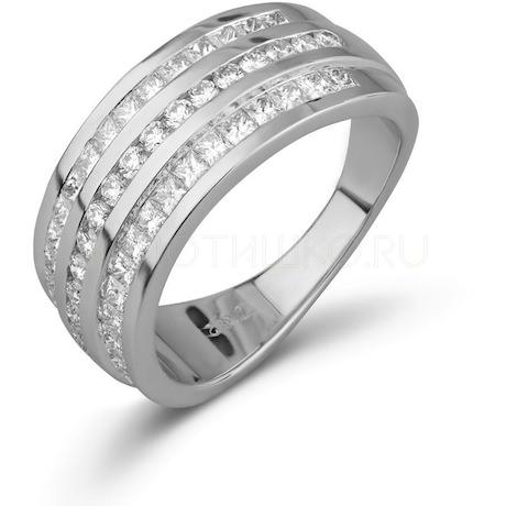 Кольцо с бриллиантами 10418
