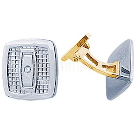 Запонки с бриллиантами 14689