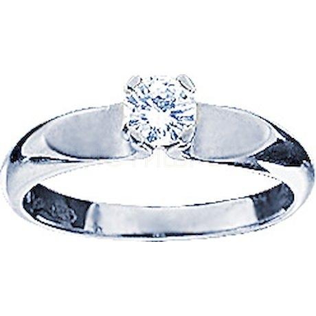 Кольцо с бриллиантом 18995