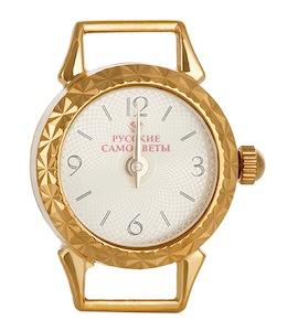 Часы серебряные с золочением 21875
