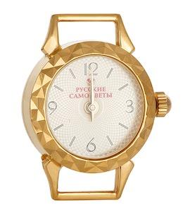 Часы серебряные с золочением 21878