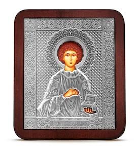 """Икона """"Святой Великомученик Пантелеймон """" 35121"""