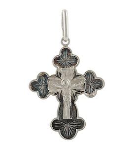 Серебряный крест 43192