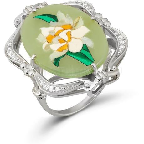 Кольцо с бриллиантами 53205