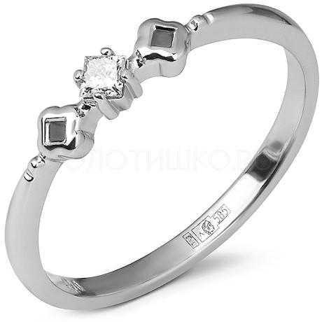 Кольцо с бриллиантом 53373