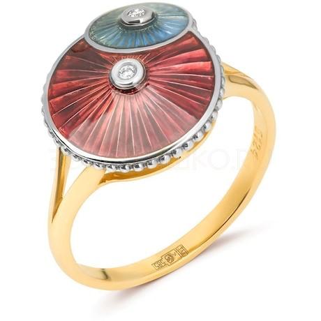 Кольцо с бриллиантами 53391
