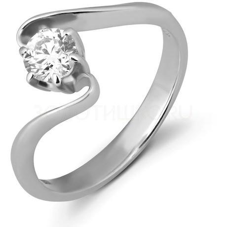 Кольцо с бриллиантом 59007
